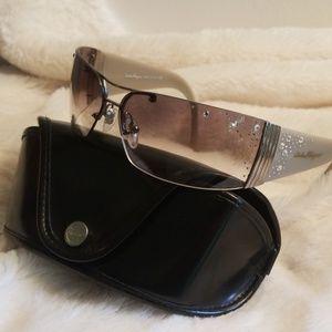Salvatore Ferragamo Embellished Sunglasses